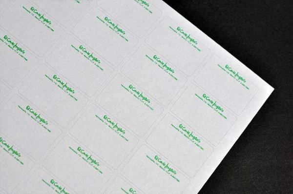 SINEL 36,9 x 23,8 Etiquetas EL CORTE INGLES sin desmallar 500 hojas
