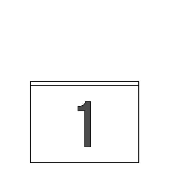 SINEL 209 x 153,7 Etiquetas DIN A5 ODETTE 500 hojas