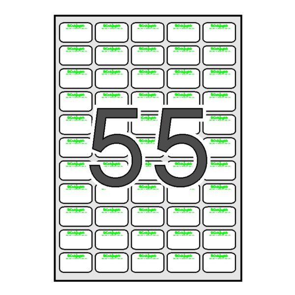 Etiquetas EL CORTE INGLES desmallada 500 hojas SINEL 36,9 x 23,8