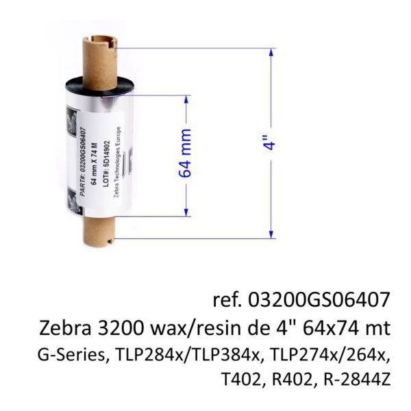ribbon zebra 03200GS06407