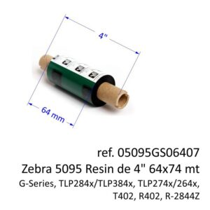 ribbon zebra 05095GS06407