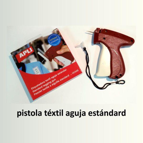 Pistola etiquetadora téxtil precios estándar APLI-s