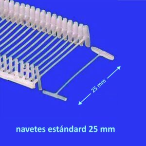 Navetes estandar 25 mm - 5000 unidades
