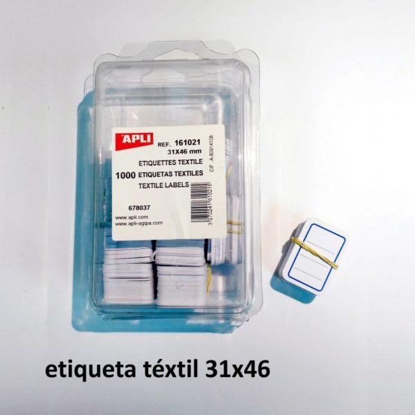 Etiquetas de cartulina 31 x 46 mm - 1000 unidades
