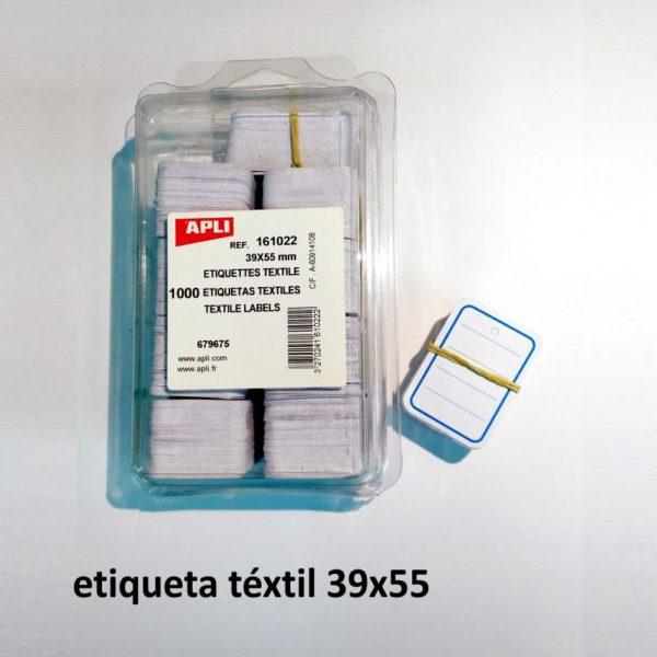 Etiquetas de cartulina 39 x 55 mm - 1000 unidades