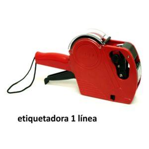 ETIQUETADORA PRECIOS MANUAL 1 línea 8 caracteres