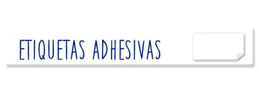 Etiquetas adhesivas APLI y SINEL, en hojas DIN A4 y en rollo