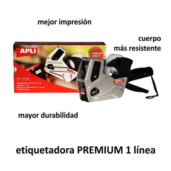ETIQUETADORA PRECIOS PREMIUM 1 línea 8 caracteres