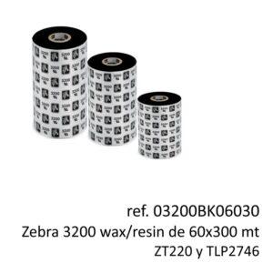 ribbon zebra 03200BK06030