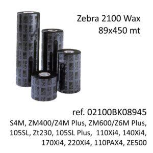 ribbon zebra 02100BK08945