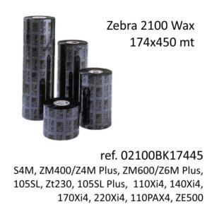 ribbon zebra 02100BK17445