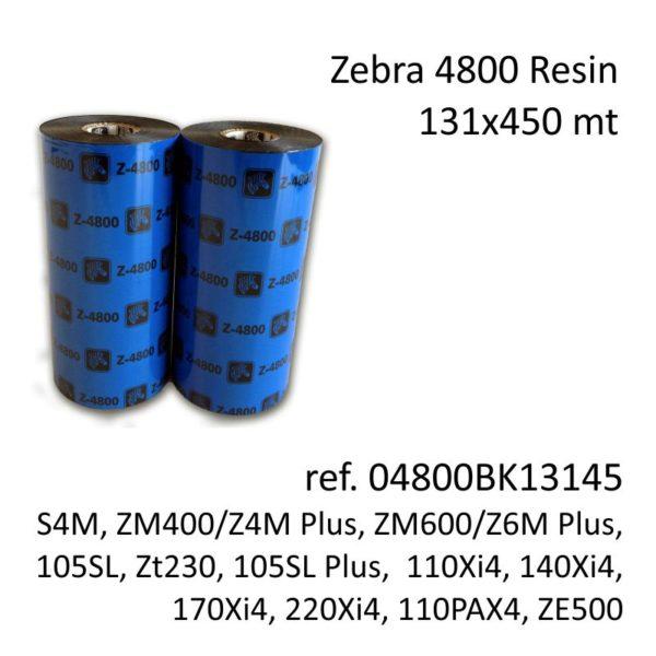 ribbon zebra 04800BK13145