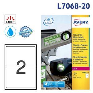 AVERY L7068-20
