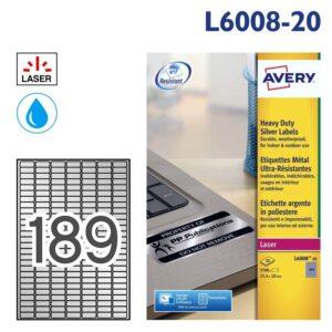 AVERY L6008-20