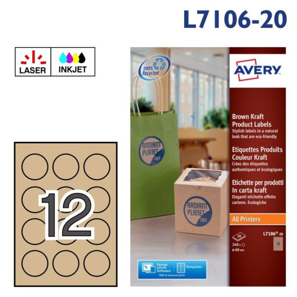 AVERY L7106-20