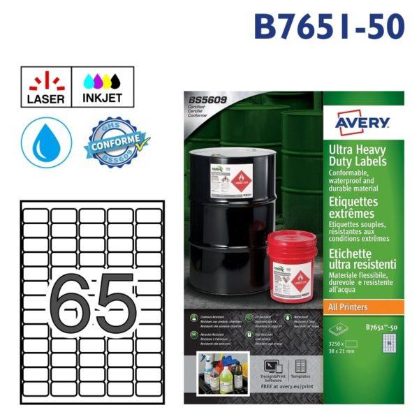 AVERY B7651-50